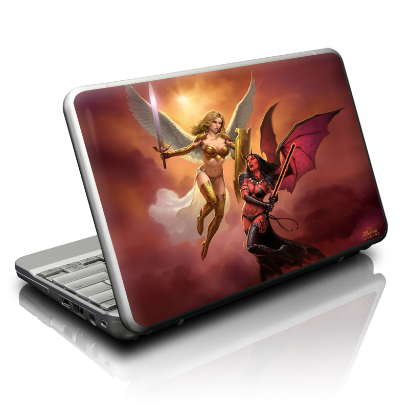 Angel vs Demon Netbook Skin