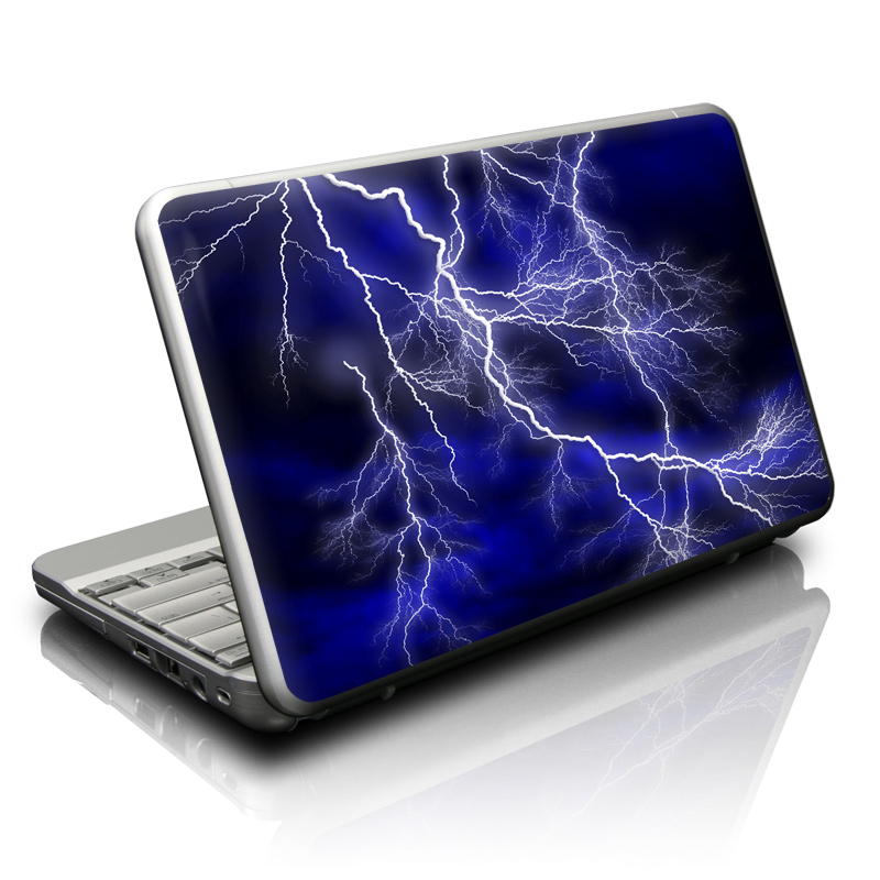 Apocalypse Blue Netbook Skin
