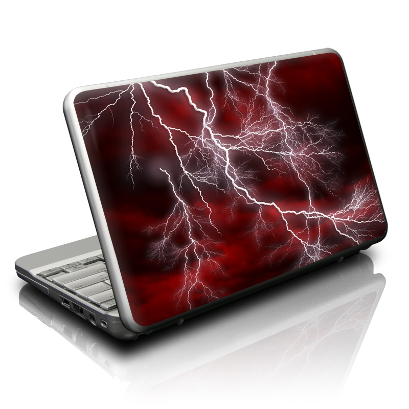Apocalypse Red Netbook Skin