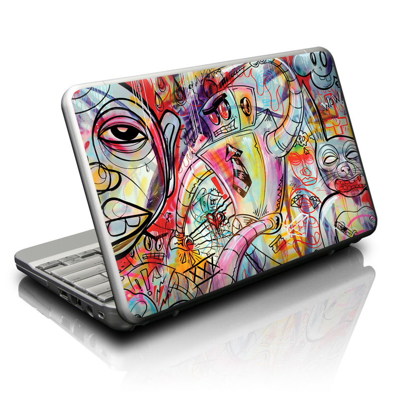 Battery Acid Meltdown Netbook Skin