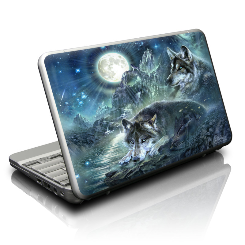 Bark At The Moon Netbook Skin
