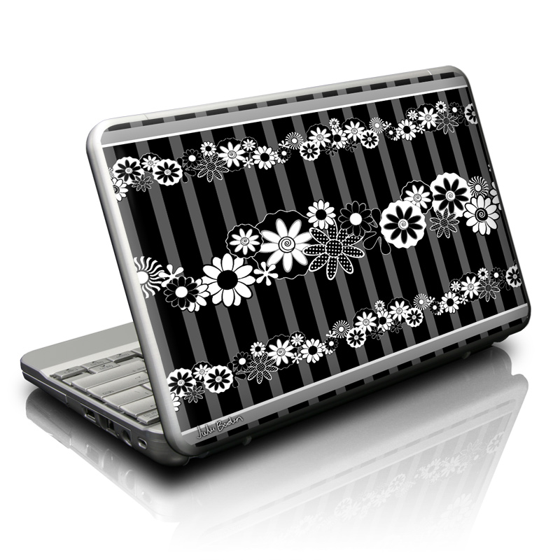 Black Retro Netbook Skin