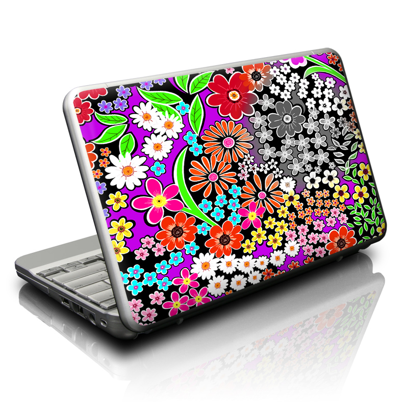 A Burst of Color Netbook Skin