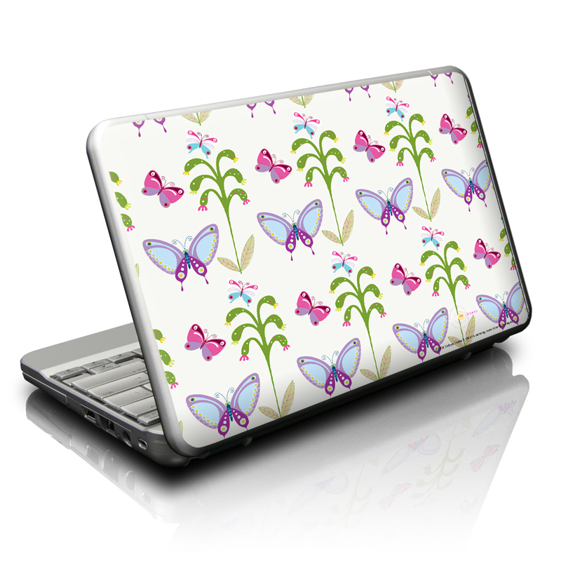 Butterfly Field Netbook Skin