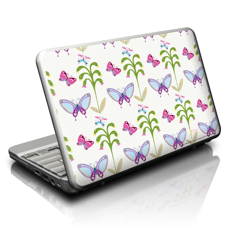 Butterfly Field Netbook Skin