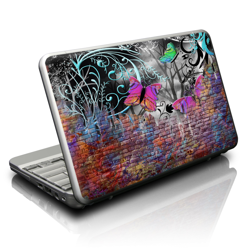 Butterfly Wall Netbook Skin