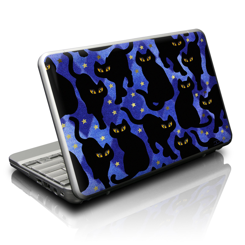 Cat Silhouettes Netbook Skin