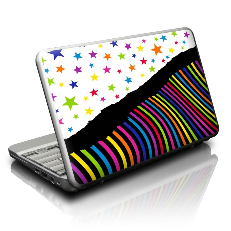 Color Wave Netbook Skin