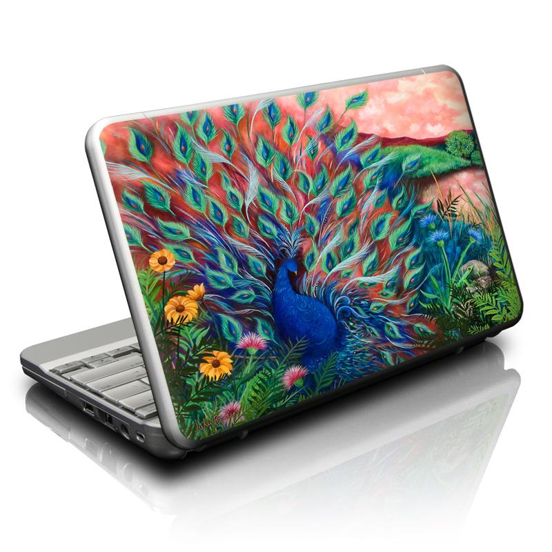 Coral Peacock Netbook Skin