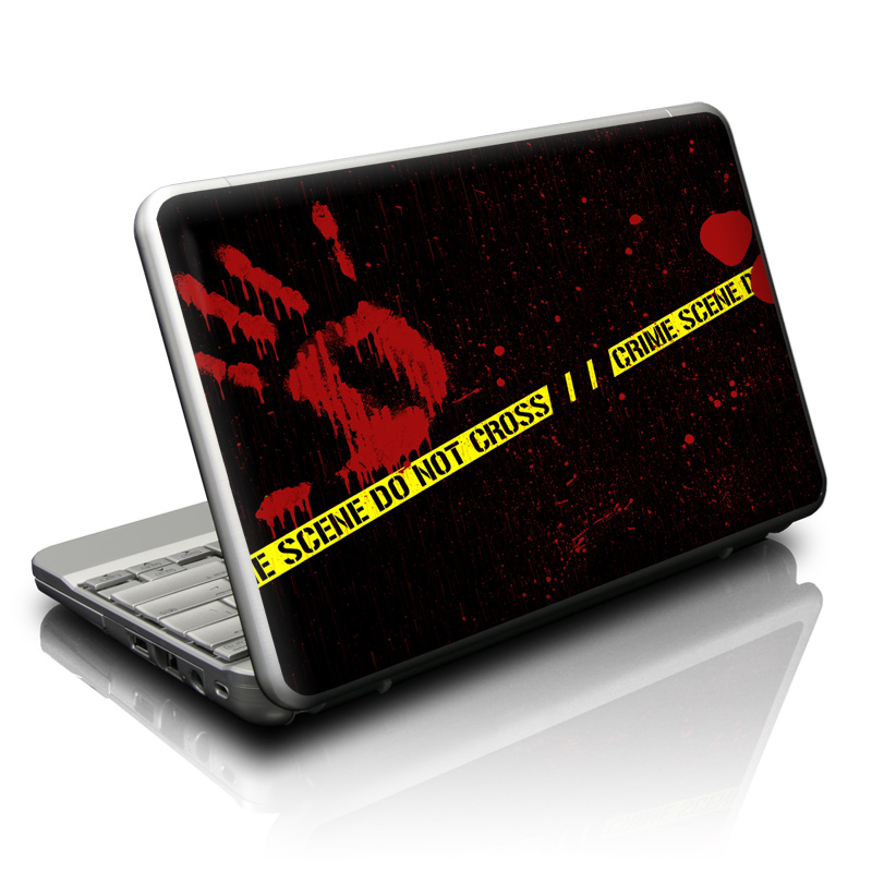 Crime Scene Netbook Skin