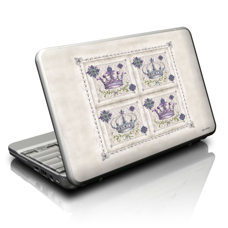 Purple Crown Netbook Skin