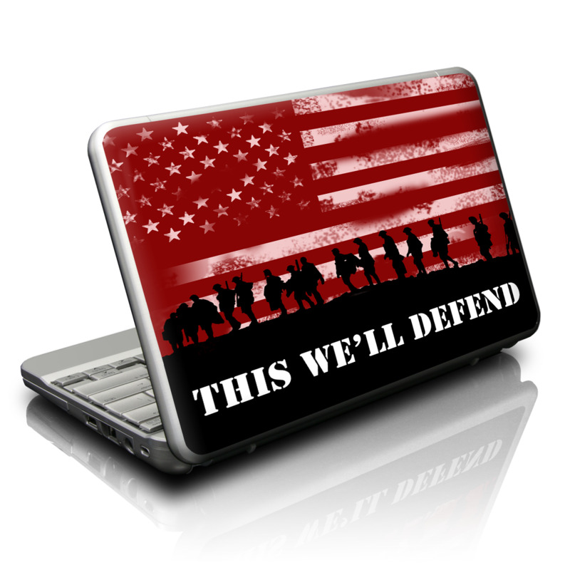 Netbook Skin design of Red, Flag, Font, Veterans day, Crowd, Illustration, Silhouette, Red flag with red, black, gray, pink colors
