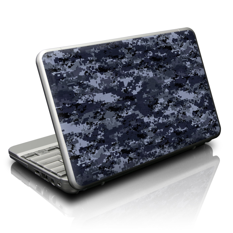 Digital Navy Camo Netbook Skin