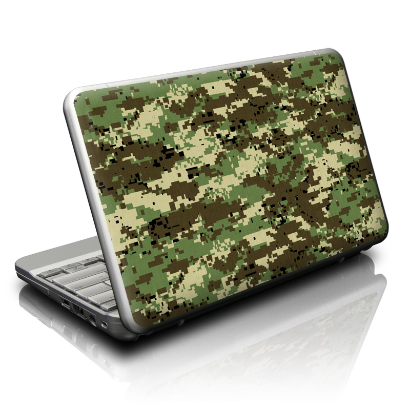 Digital Woodland Camo Netbook Skin