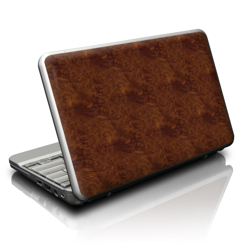 Dark Burlwood Netbook Skin