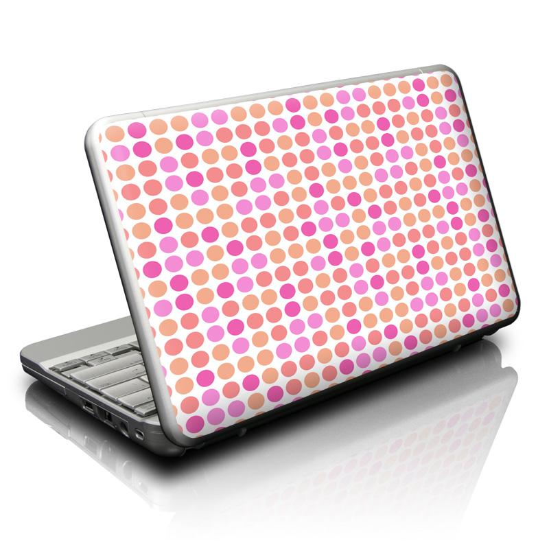 Big Dots Peach Netbook Skin