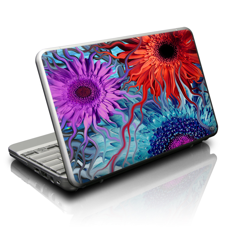 Deep Water Daisy Dance Netbook Skin