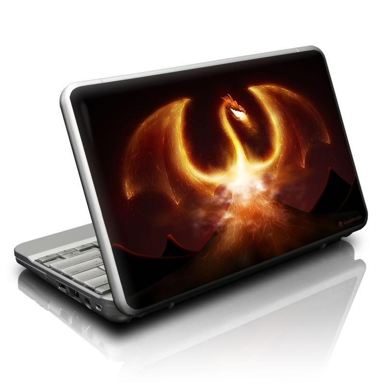 Fire Dragon Netbook Skin