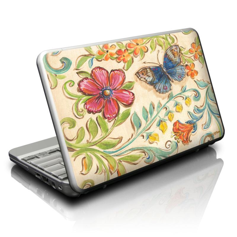 Garden Scroll Netbook Skin