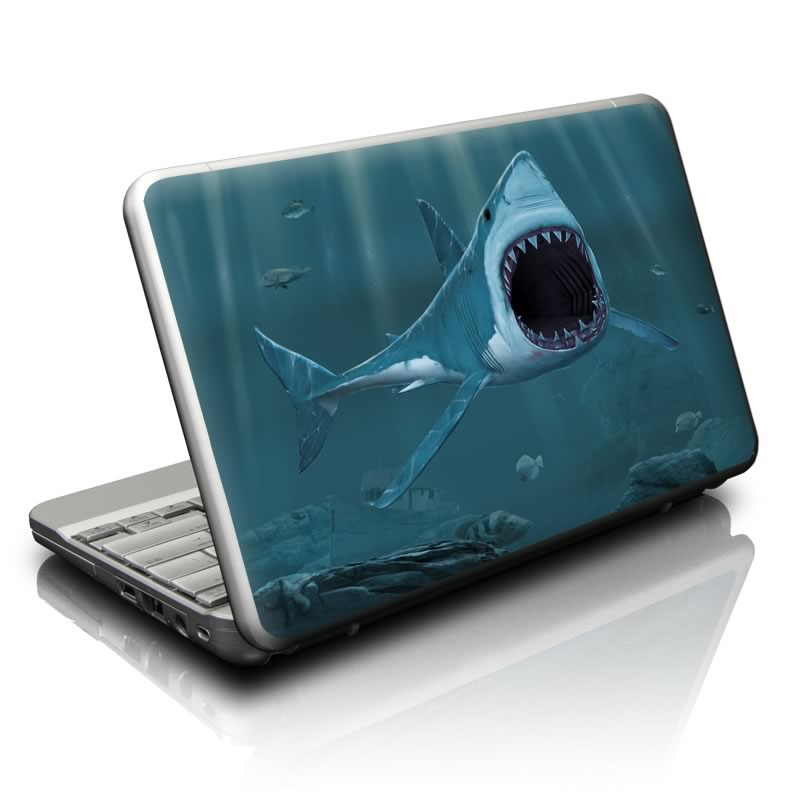 Great White Netbook Skin