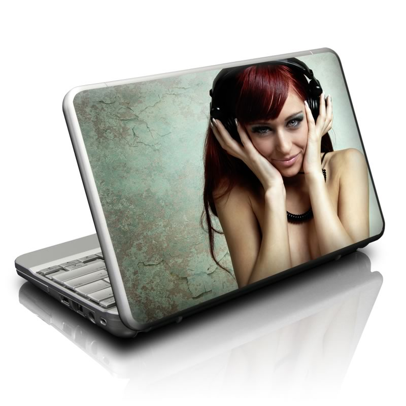 Headphones Netbook Skin