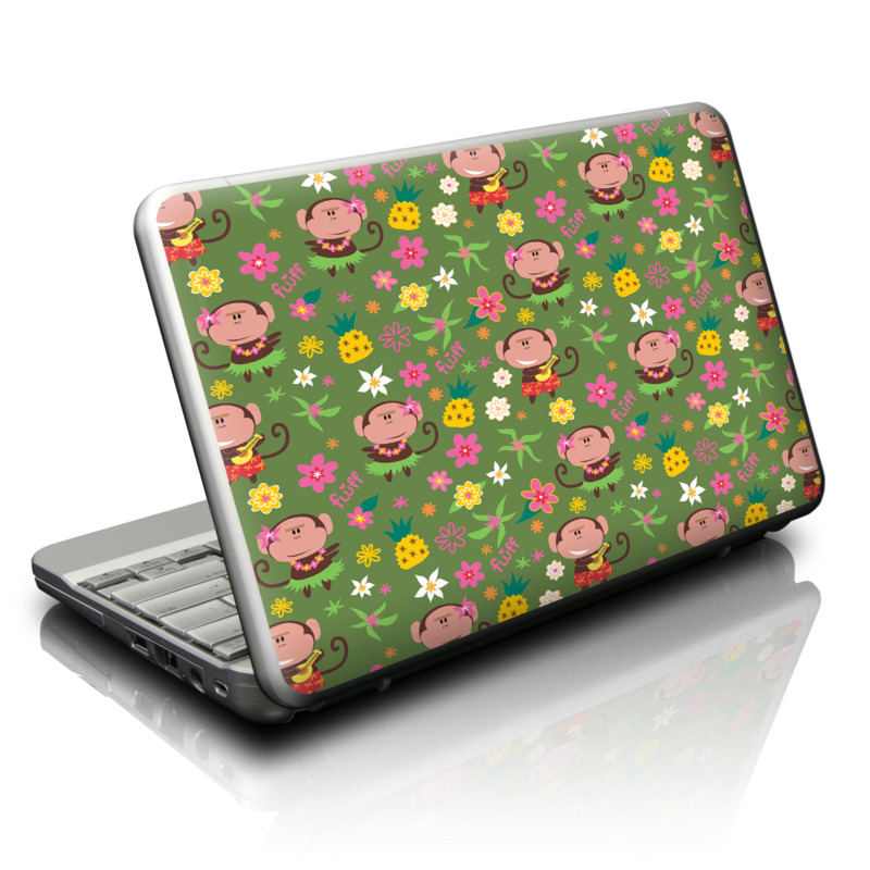 Hula Monkeys Netbook Skin