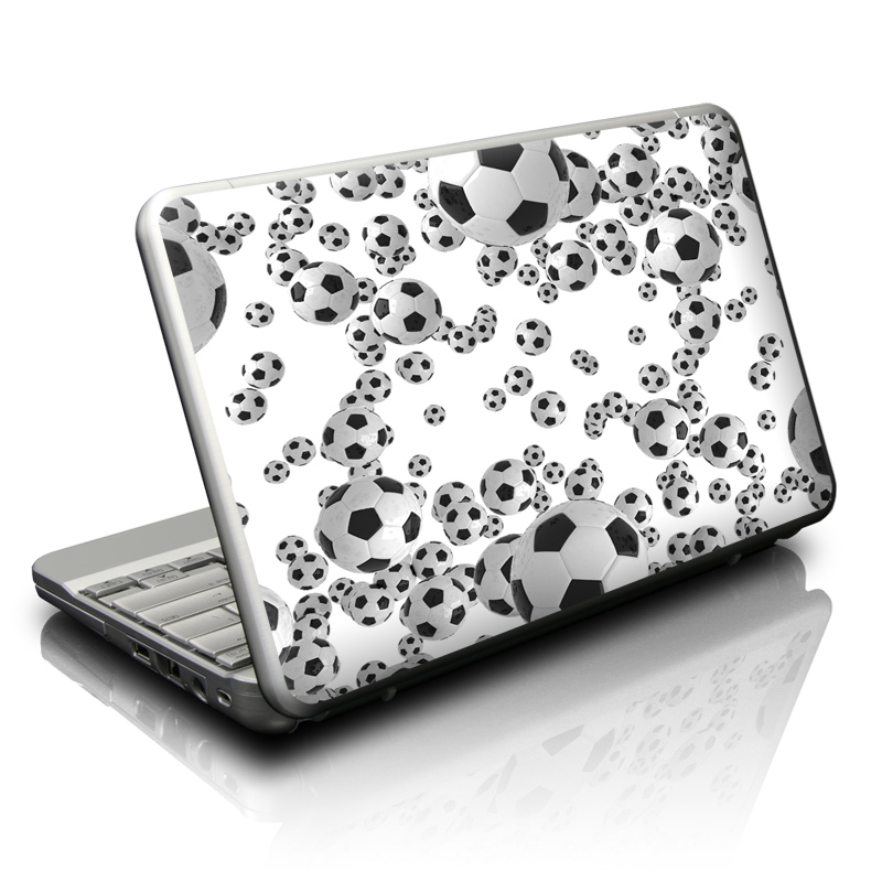 Lots of Soccer Balls Netbook Skin