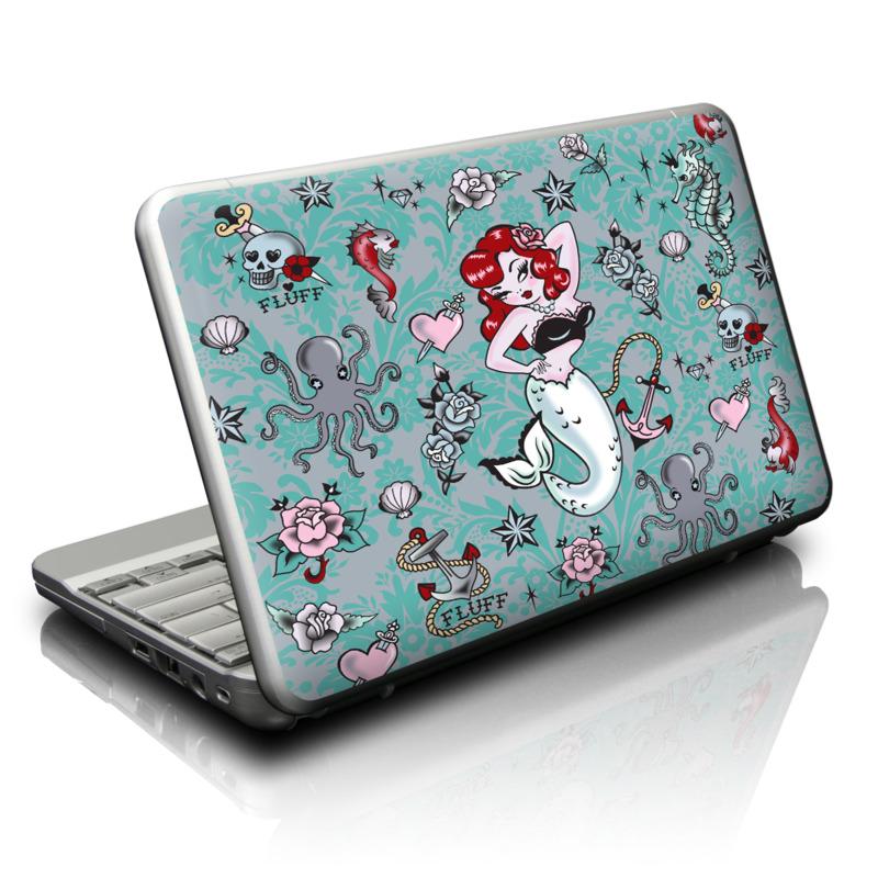 Molly Mermaid Netbook Skin