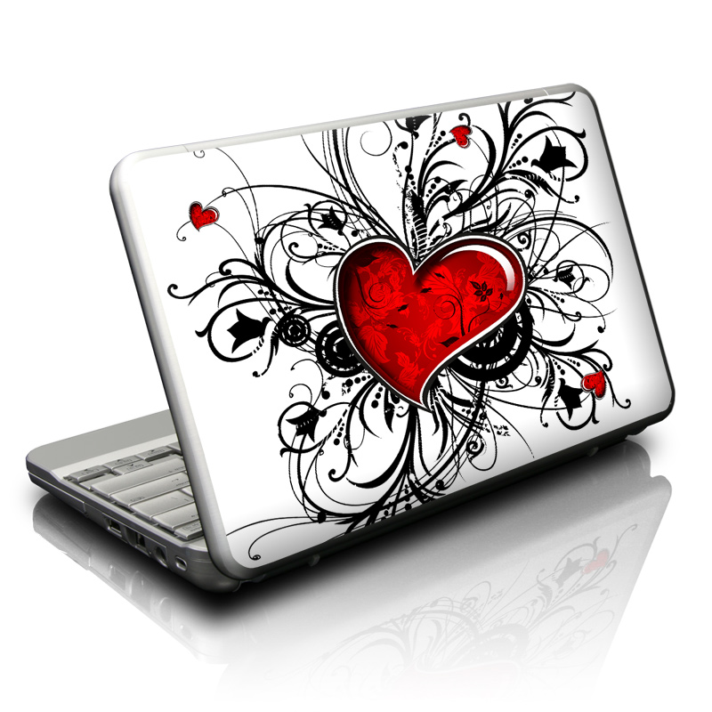 My Heart Netbook Skin