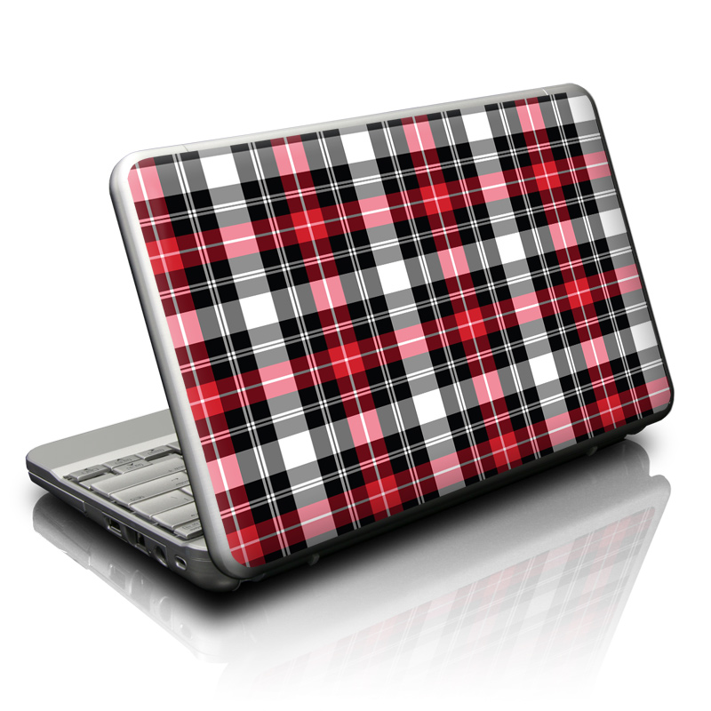 Red Plaid Netbook Skin