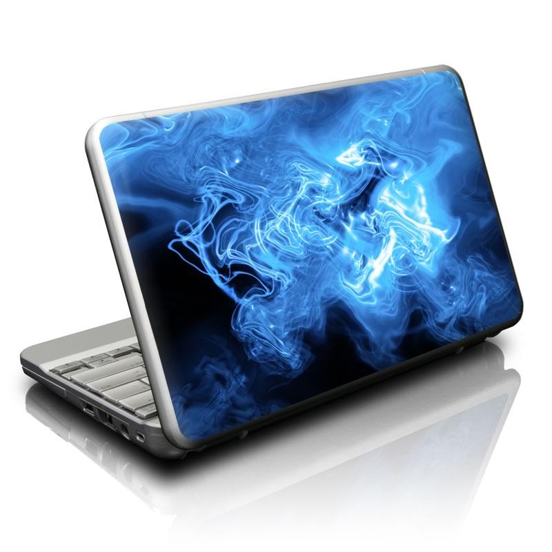 Blue Quantum Waves Netbook Skin