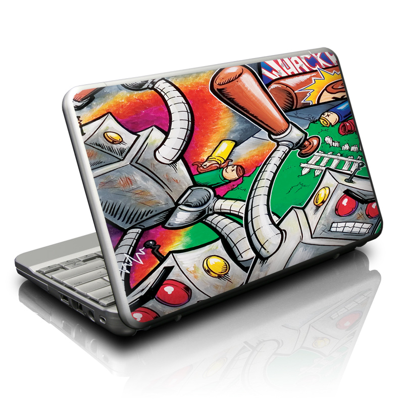 Robot Beatdown Netbook Skin