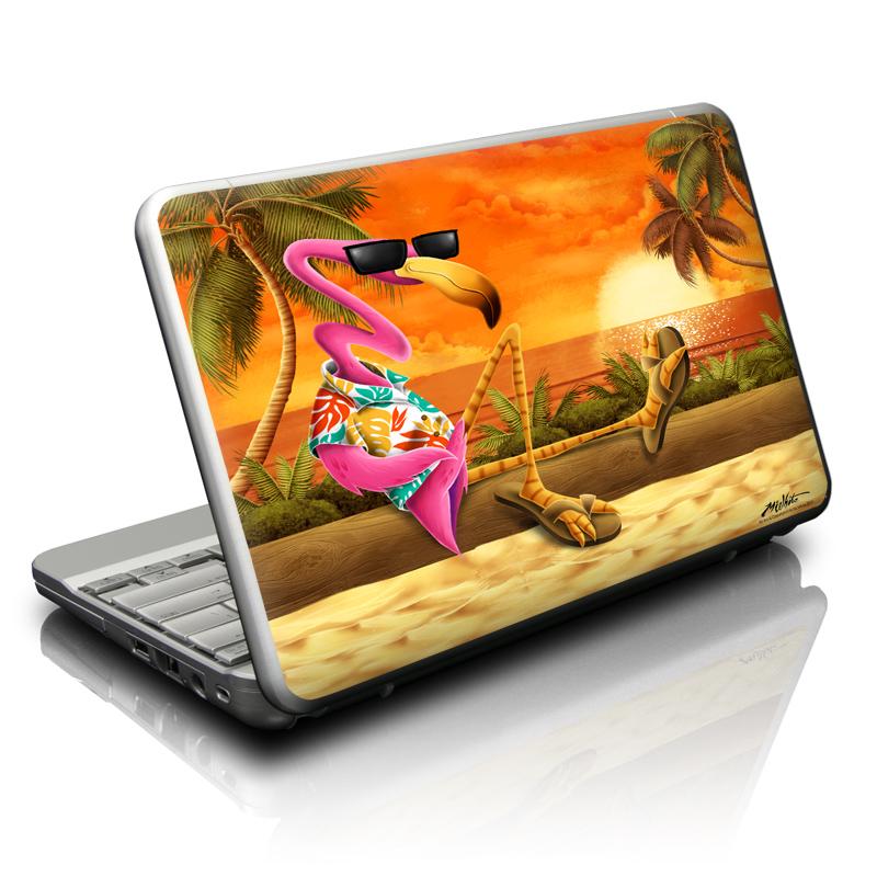 Sunset Flamingo Netbook Skin