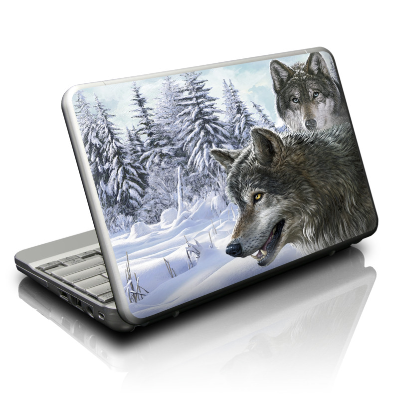 Snow Wolves Netbook Skin