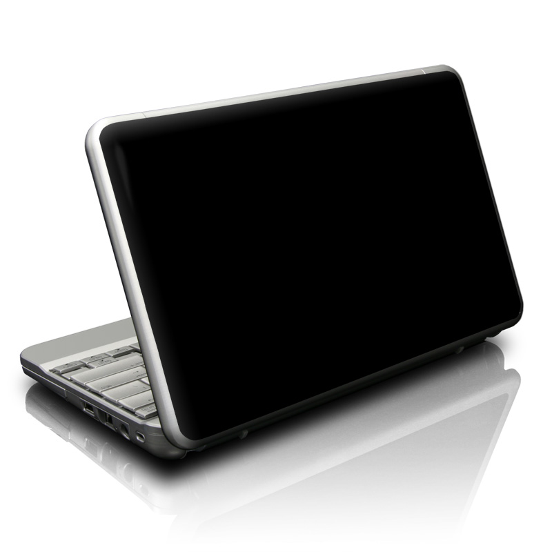 Solid State Black Netbook Skin