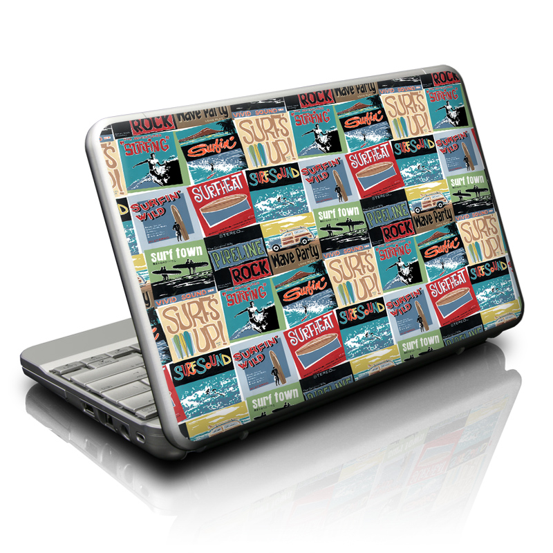 Surf Sounds Netbook Skin