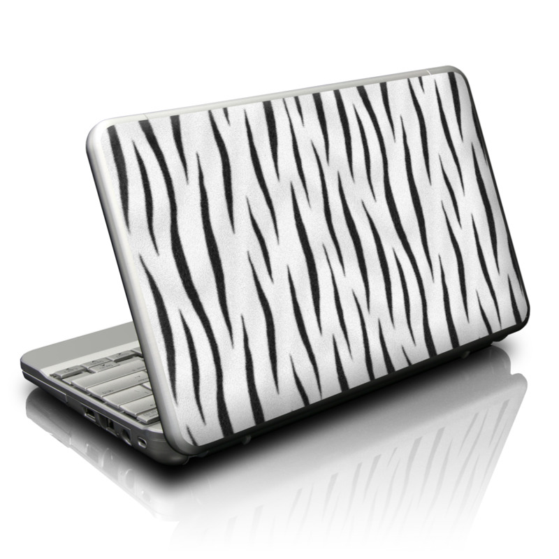 White Tiger Stripes Netbook Skin