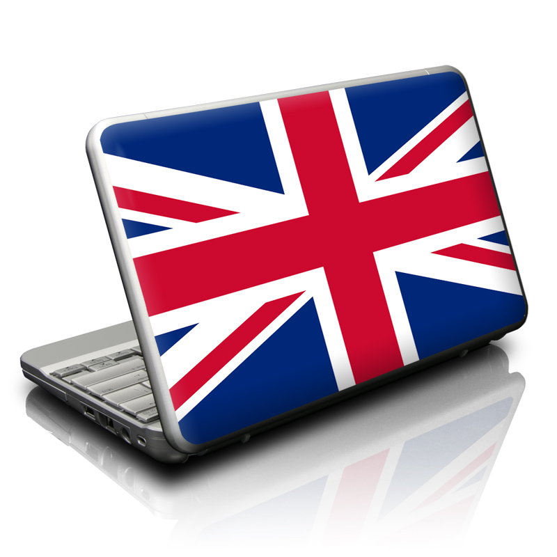 Union Jack Netbook Skin