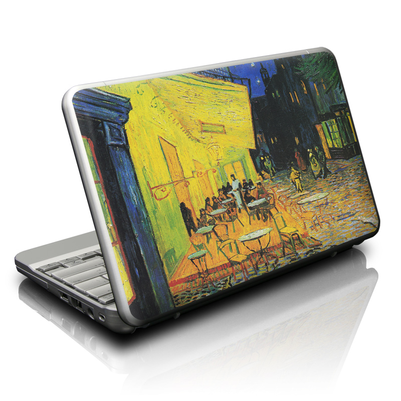 Cafe Terrace At Night Netbook Skin