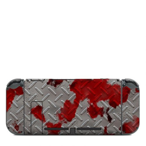 Accident Nintendo Switch Back Skin
