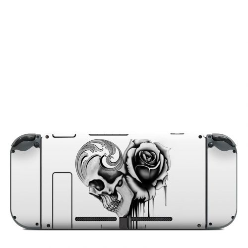 Amour Noir Nintendo Switch Back Skin