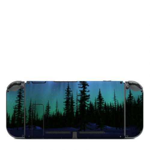 Aurora Nintendo Switch Back Skin