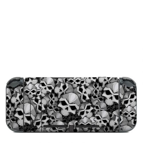 Bones Nintendo Switch Back Skin