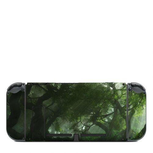 Canopy Creek Spring Nintendo Switch Back Skin