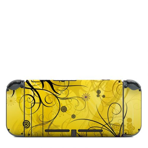 Chaotic Land Nintendo Switch Back Skin