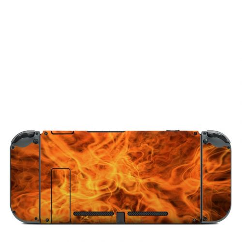 Combustion Nintendo Switch Back Skin
