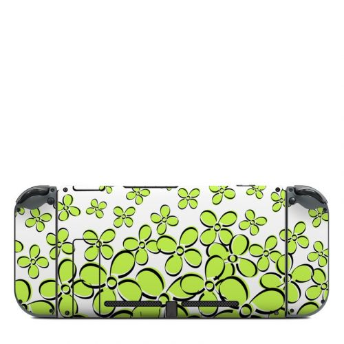 Green Nintendo Switch Back Skin