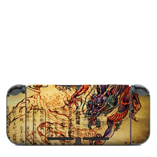Dragon Legend Nintendo Switch Back Skin