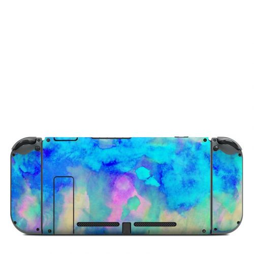 Electrify Ice Blue Nintendo Switch Back Skin