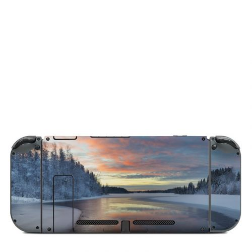 Evening Snow Nintendo Switch Back Skin